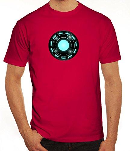 Kult Film Herren T-Shirt mit Arc Reactor Motiv von ShirtStreet Sorbet