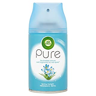 Air Wick Air Freshener, Freshmatic Pure Auto Spray, Spring Delight, Refill 250 ml, Pack of 2