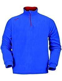 Izas Saverio Forro Polar, Hombre, Multicolor (Azul Royal/Rojo), 2XL