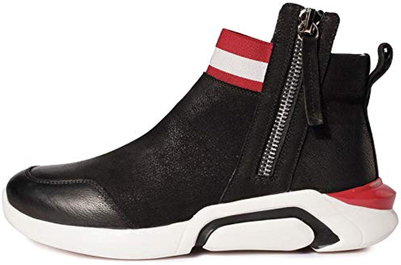 GUOHONG-CX Stivali Stivali Stivali da Uomo Scarpe Martin Autunno Inverno Plus Velluto Tenere Caldo in Pelle Scarpe Sportive Casual... | Esecuzione squisita  2e0921