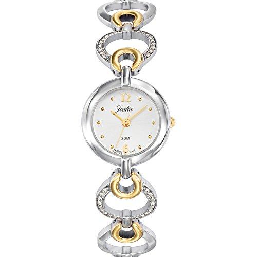 Joalia 634540 - Orologio da polso donna, metallo, colore: bicolore