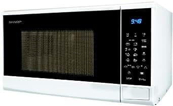 Sharp - r240w - Micro-ondes 20l 800w blanc