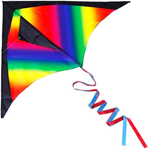 Anpro Huge Colorful Flying Kite ...