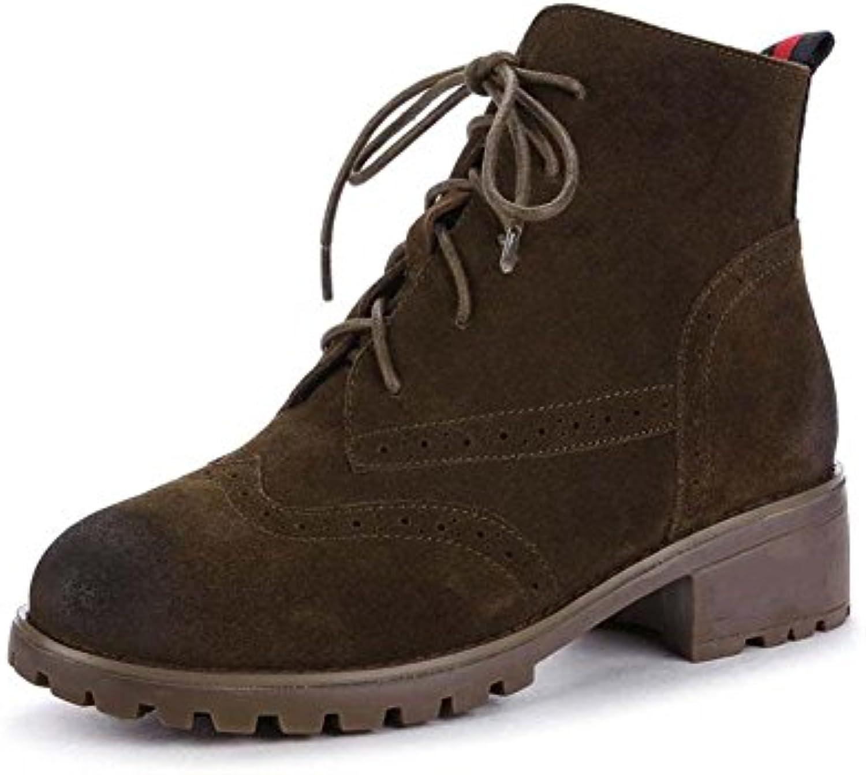 Bottes courtes Automne et taille Hiver Rétro bottes Chaussures de grande taille et , 40 8b6ec7