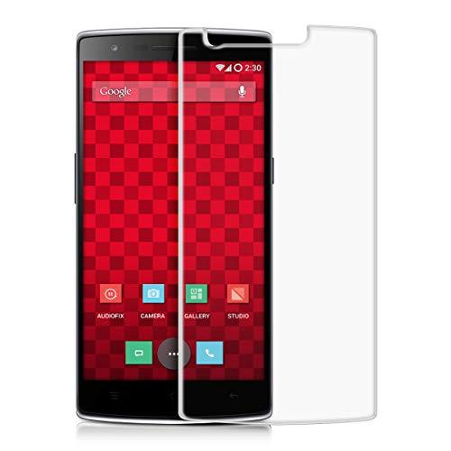 kwmobile Pellicola Protettiva in Vetro Temperato OPACA e ANTIRIFLESSO con effetto anti-impronte per OnePlus One (5,5') - Qualità premium