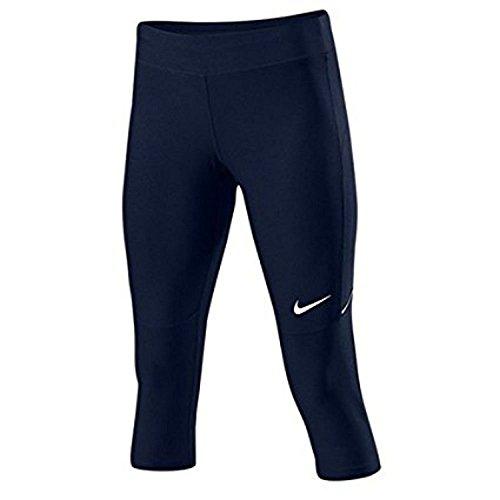 Nike abbigliamento WS Filament Capri Multicolore - Tm Navy/Tm White