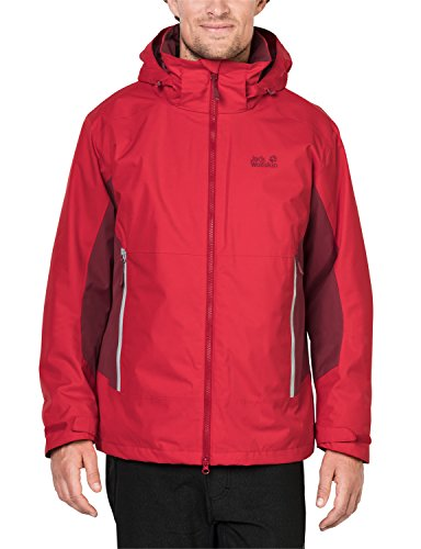 Jack Wolfskin Veste North Border 3 en 1