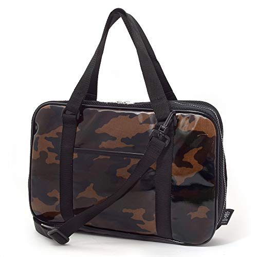Kids Calligraphy, penmanship bag rated on style N2204800 made in Japan, moss green camouflage (bag only) (japan import)