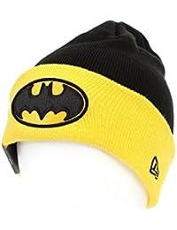 New Era x DC Comics - Bonnet Homme Batman Char Contrast Cuff - Black / Yellow