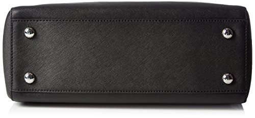 Michael Kors Cynthia Saffiano Leather Medium Satchel Nero