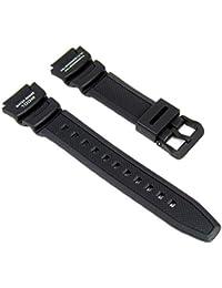 Casio Bracelet de Montre Resin Band noir pour SGW-400H SGW-300H