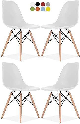 Eames Style Chair by La Valley - Juego de 2/4 sillas segunda mano  Se entrega en toda España