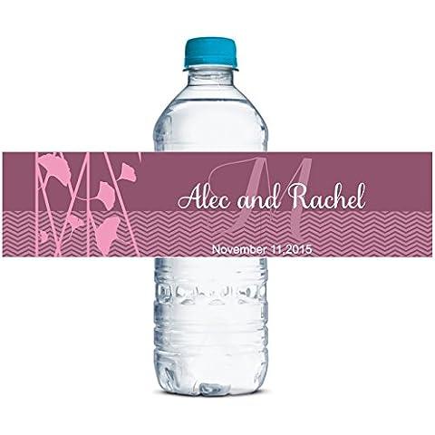Personalizzati Etichette Delle Bottiglie Di Acqua Matrimonio Autoadesiva Impermeabile Adesivo Personalizzato 8
