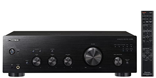 Pioneer A-50DA-K Stereo-Verstärker/Wandler (Aluminium-Front, 2X 90 Watt, USB D/A Wandler, Speaker A/B-Schaltung, Loudness Funktion) schwarz