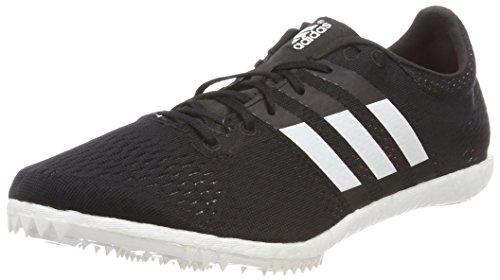 adidas Unisex-Erwachsene Adizero Avanti Leichtathletikschuhe Schwarz (Negbas/Ftwbla/Naranj 000) 41 1/3 EU