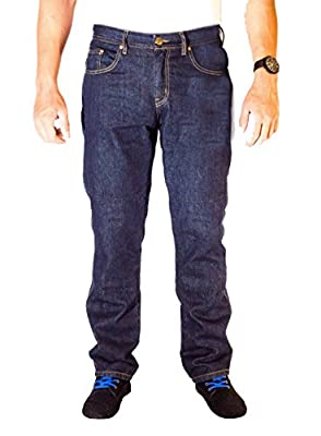 HB Motorcycle Aramid Lined K Jeans. Reinforced Denim Motorcycle Jeans with free Armours.