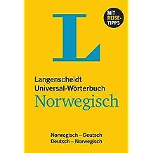 Langenscheidt Universal-Wörterbuch Norwegisch: Norwegisch-Deutsch/Deutsch-Norwegisch (Langenscheidt Universal-Wörterbücher)