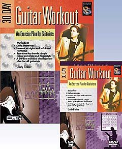 30 DAY GUITAR WORKOUT - arrangiert für Gitarre - mit DVD [Noten / Sheetmusic] Komponist: FISHER JODY (Alfred-gitarre Dvd)