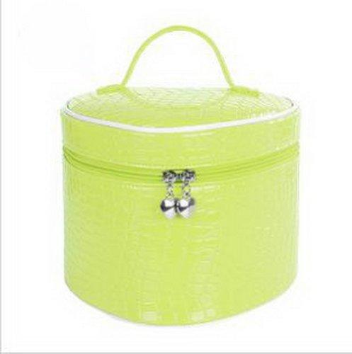 Étanche Affaire cosmétique / grande Capacité pochette cosmétique, vert