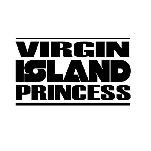 Virgin Island Princess Window Vinyl Decal Stickerfor Cars, Trucks, Windows, Walls, Laptops -