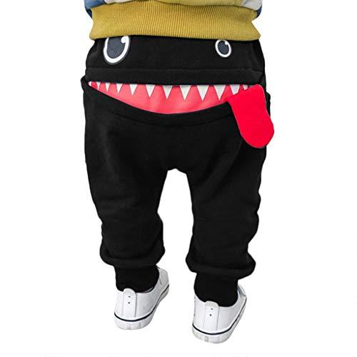 Zylione Kinder Hosen Boy Baby Shark Big Tongue Pluderhosen Hosen Kindertagesgeschenk -