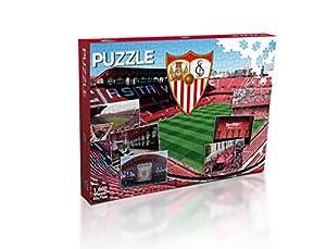 Sevilla FC Puzzle 1000 Piezas (11909), Multicolor (Eleven Force 1)