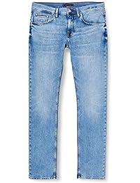Tommy Hilfiger Slim Bleecker Str Artas Blue Pantalones para Hombre
