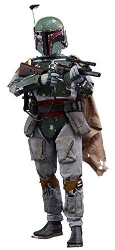Hot Toys Figura Boba Fett 30 cm. Star Wars: Episodio V. Escala 1:6