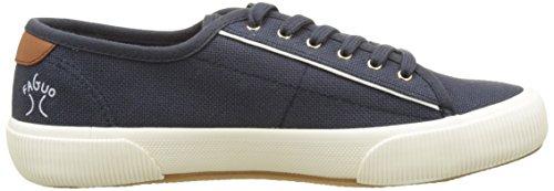 Faguo Birch, Baskets Basses Mixte Adulte Bleu (Navy)