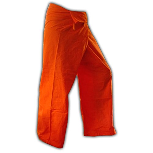 Panasiam Thai Fisherman Hose , Orange , XL