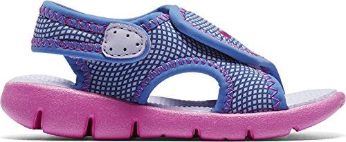 Sandale Nike Sunray Adjust 4 Violet / rose Bleu-Rose