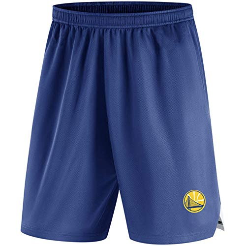 AIALTS NBA Shorts Basketball Masculin, Les Jeunes Lakers Boy/Guerriers/Raptors/Pantalons Plage Casual Basketball Formation Uniforme Brooklyn Nets Hommes,H,M