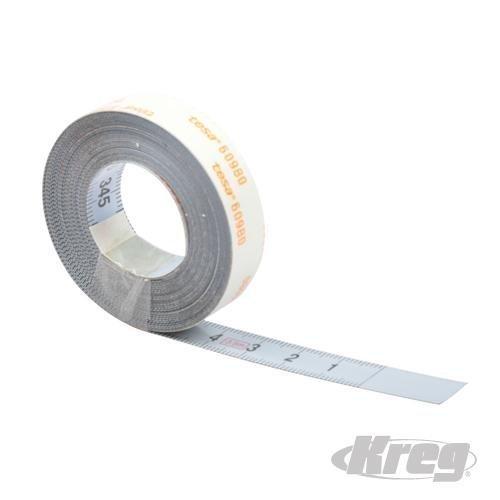 KREG 990177, Selbstklebend, 3,5 M Maßband mit Metrischen L-R
