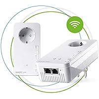 Devolo Magic 2 WiFi: Weltweit schnellstes Powerline-Starterkit für zuverlässiges WLAN ac einfach via Stromleitung durch Wände und Decke, smarte Mesh-Vernetzung, innovative G.hn-Technologie, Gäste-WLAN