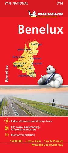 Benelux - Michelin National Map 714 par  Michelin