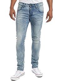 """Timezone Edotz """"3904 Vintage Blue Wash"""", jeans Homme"""