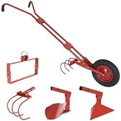 Cultivateur à roue/houe maraichère - Rouge