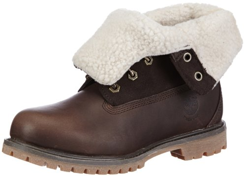 Timberland-Authentics-Teddy-Fleece-Water-Proof-Fold-Down-Womens-Boots