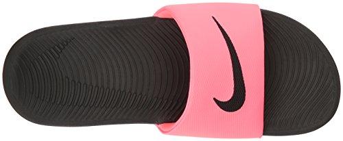 Nike Womens Kawa Slide Synthetic Sandals Schwarz Rosa