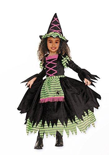 Imagen de cesar–disfraz para niños cuento libro de bruja, de 2piezas vestido de sombrero