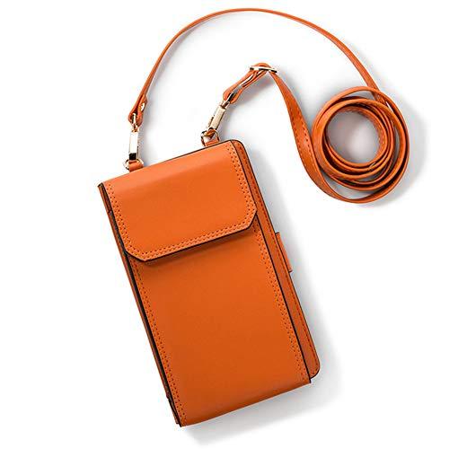 CHAOY Kleine Umhängetasche, Handy Geldbörse Smartphone Geldbörse Leichte Geräumige Reisepass Tasche Crossbody Handtaschen für Frauen,3