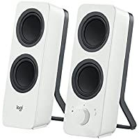 Logitech Bluetooth Speakers/PC Speakers or 3.5 mm Input, 10 W - White