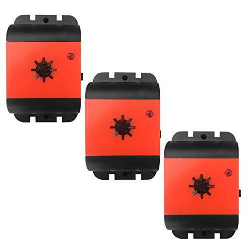 ISOTRONIC Marderscheuche Marderfix Batterie Marderabwehr Marder-Frei Mobil Mäuseschreck Auto KFZ Dachboden Keller Marderfrei Marderschutz mit Ultraschall Akustik (3)