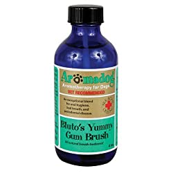 Aromadog Blutos Yummy Gum Brush - All Natural Dog Breath Freshener