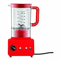 Red : Bodum Bistro Electric Blender - 1.25 L/42 oz, Red