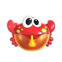 لعبة الاستحمام صانع الفقاعات الممتعة على شكل سلطعون البحر للأولاد والفتيات من ديكديل