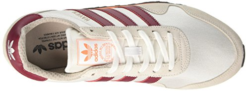 adidas Haven, Scarpe Running Uomo Multicolore (Ftwr White/collegiate Burgundy/easy Orange)