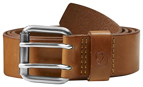 Fjällräven Herren Singi Two-Pin Belt Hosegürtel Leather Brown