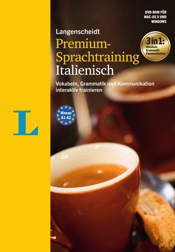 Langenscheidt Premium-Sprachtraining Italienisch - DVD-ROM: Vokabeln, Grammatik und Kommunikation interaktiv trainieren