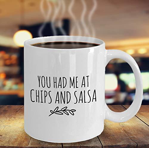 tten Mich bei Chips und Salsa Kaffeetasse lustige Tassen mexikanisches Essen Liebhaber Geschenk f¨¹r Freundin Bestie Geschenk Cinco De Mayo Taco Dienstag ()